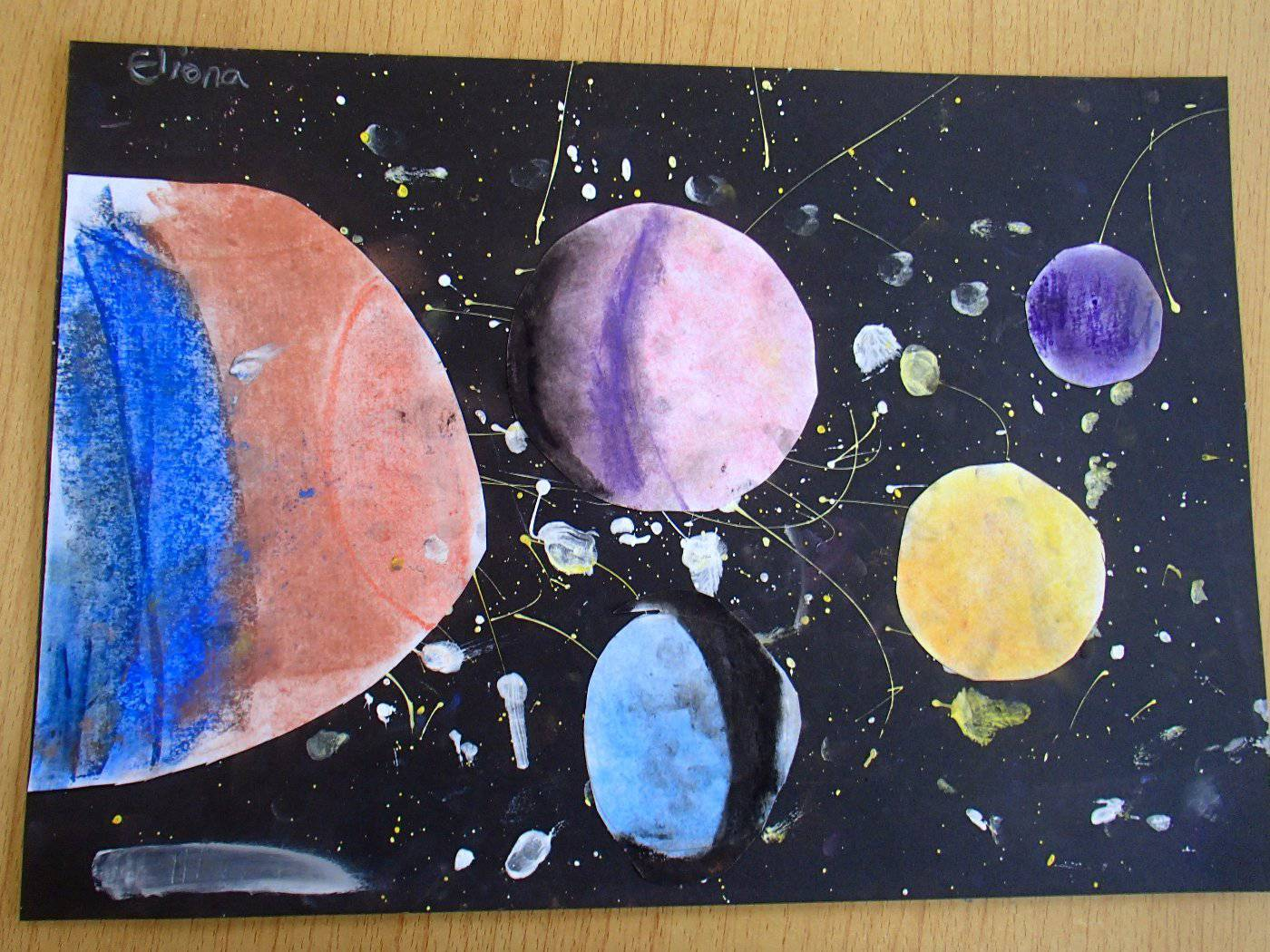 solar system art primrose hill primary school. Black Bedroom Furniture Sets. Home Design Ideas