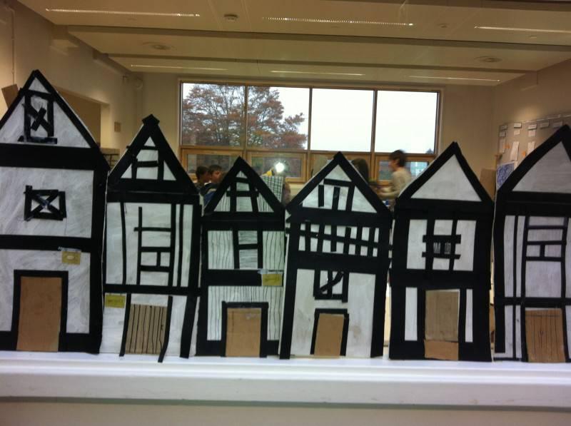 Junk Model Buildings Primrose Hill Primary School