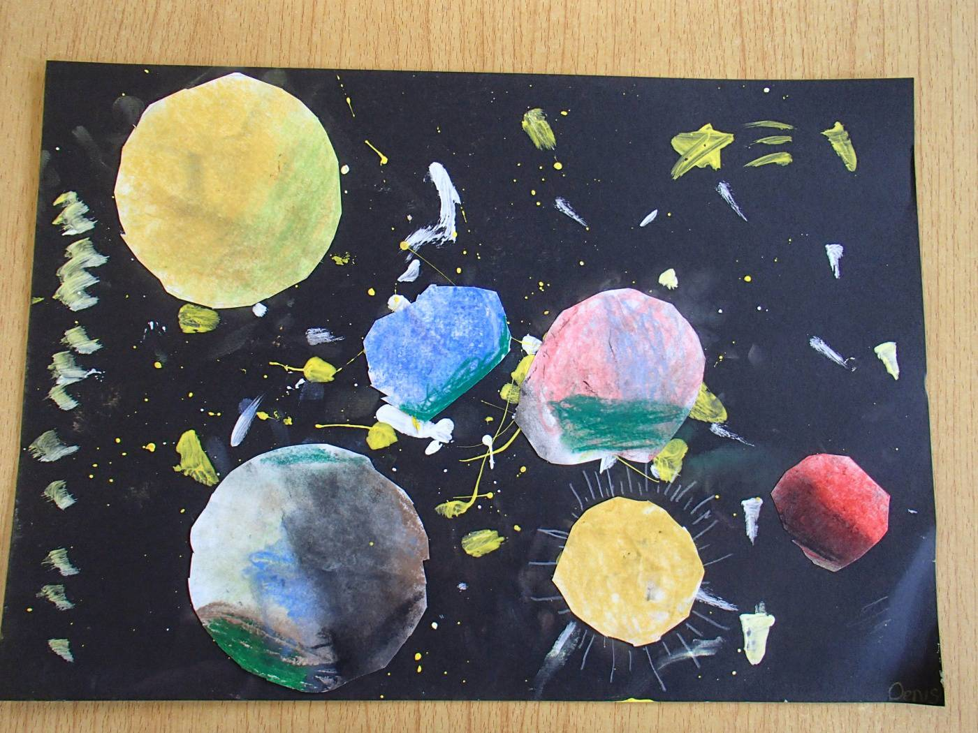 solar system paintings - photo #21